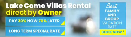 Lake Como Villas Rental Direct by Owner