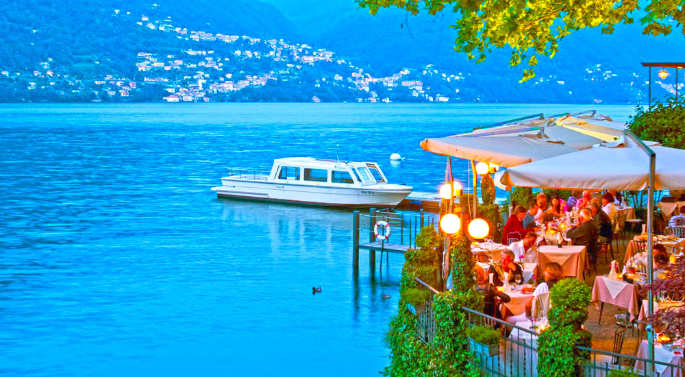 The Crotti of Lake Como